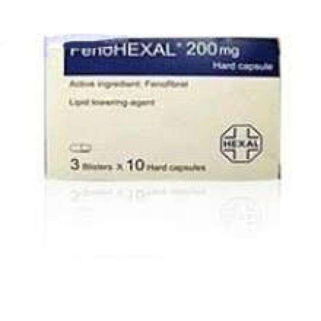 FENOHEXAL CAP 200 mg H/30 V