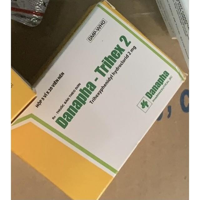 Trihex 2mg H/100 viên ( điều trị bệnh Parkinson)