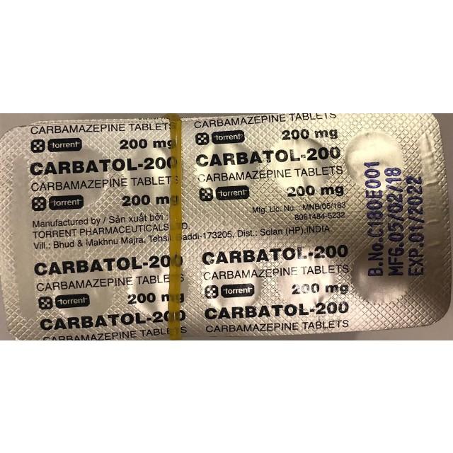 Carbatol-200 H/30 viên (trị động kinh)