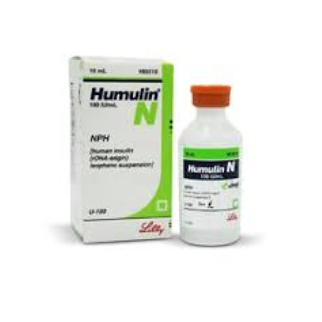 HUMULIN N 100IU/ML 10ML