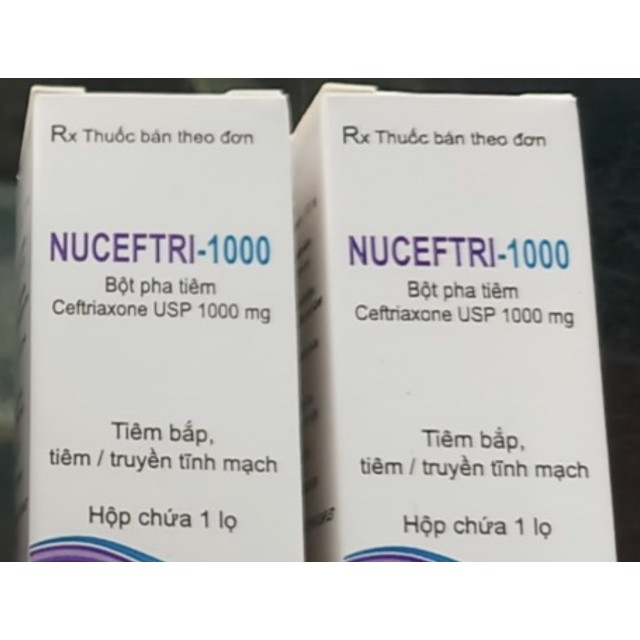 Nuceftri-1000 H/10 lọ