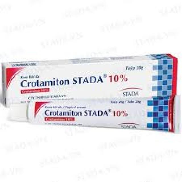 Crotamiton Stada 10% trị ghẻ ngứa