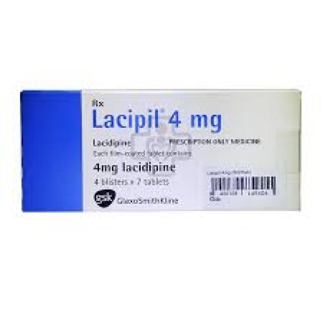 LACIPIL 4MG H/28 v