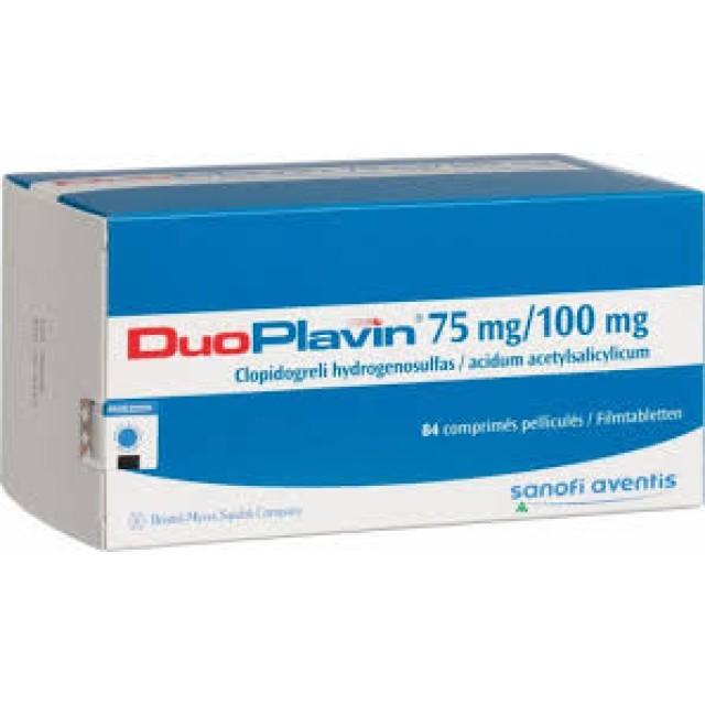 DuoPlavin 75mg/100mg chống kết tập tiểu cầu
