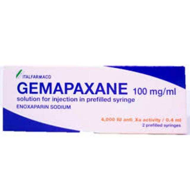 GEMAPAXANE 4000IU/0.4ML H/6 BƠM TIÊM