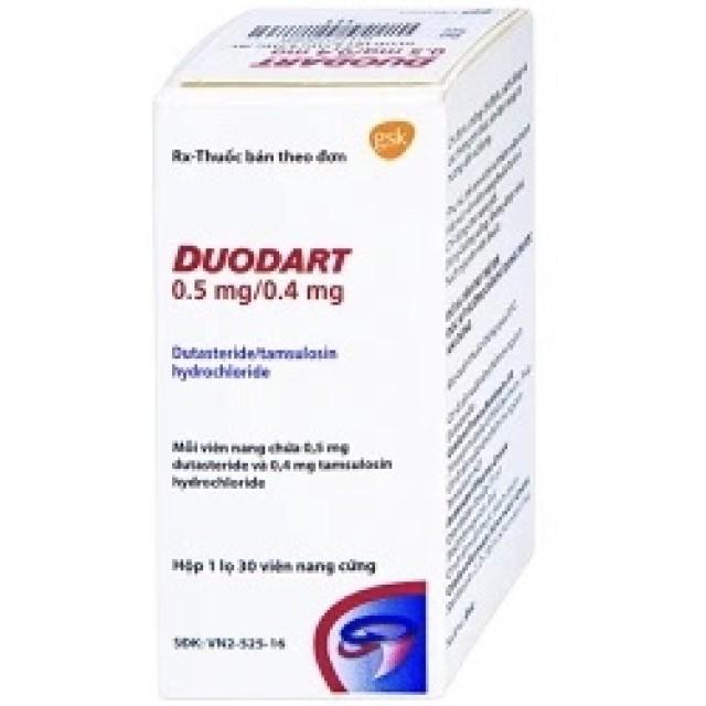 Duodart 0.5mg/0.4mg H/30Viên (u tuyến tiền liệt)