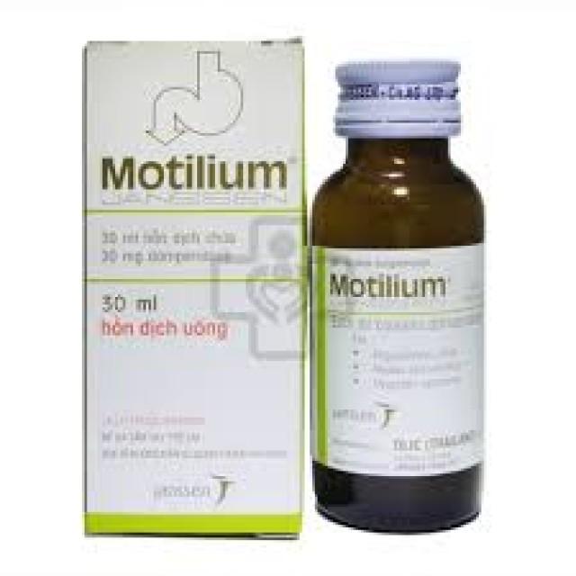 thuốc Motilium Siro chai 15 ml