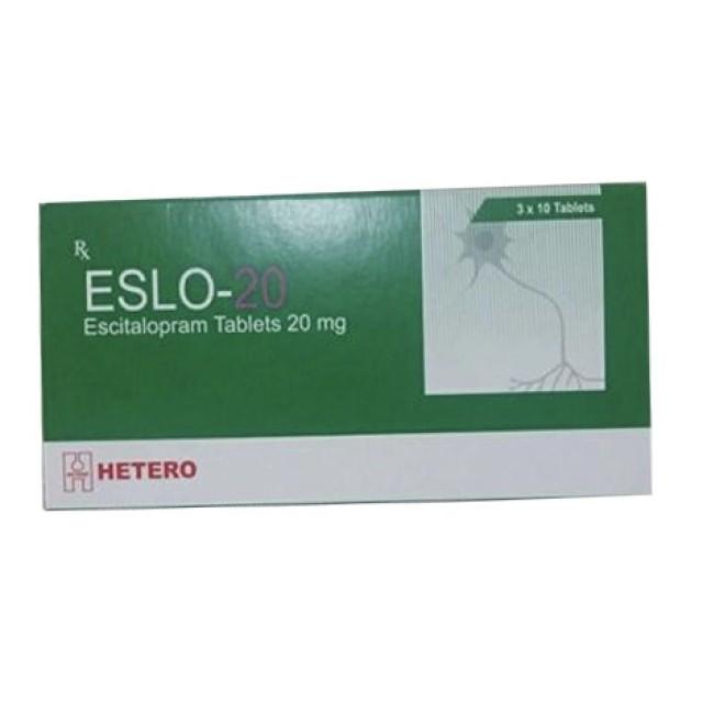 ESLO 20 MG H/30 viên – Điều trị rối loạn lo âu và trầm cảm
