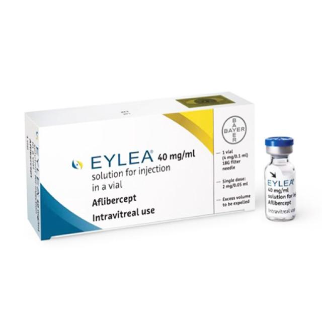 Eylea Vial 40 mg/ml H/1 lọ ( điều trị thoái hóa điểm vàng)