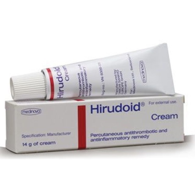 Hirudoid Forte 14g (Kem bôi trị viêm tĩnh mạch)