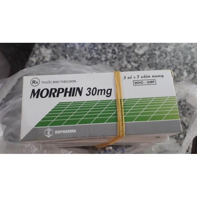 Morphin 30mg H/21 viên