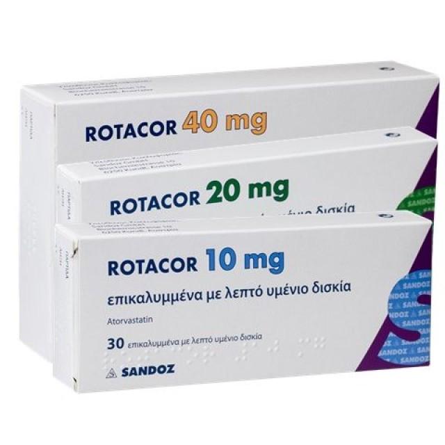 Rotacor 20mg H/30 v