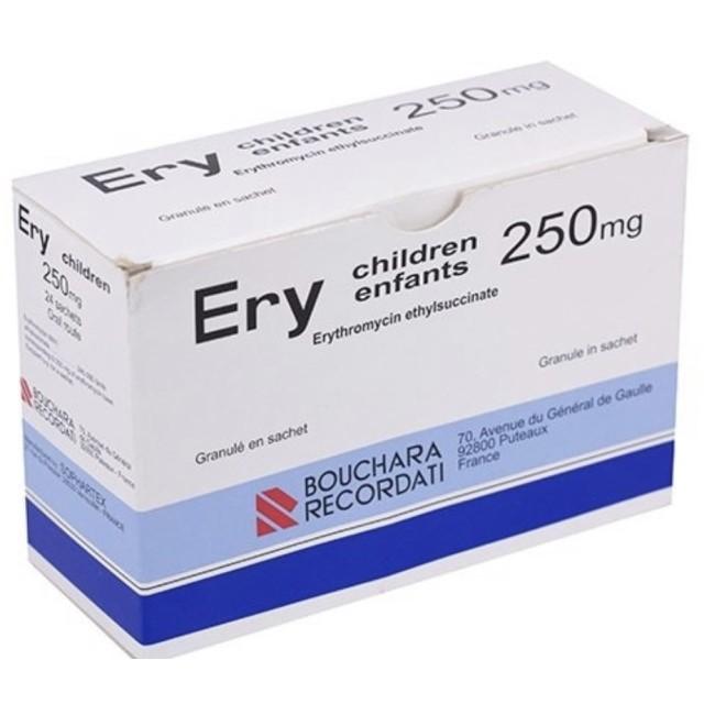 Ery Children 250 mg Pháp H/