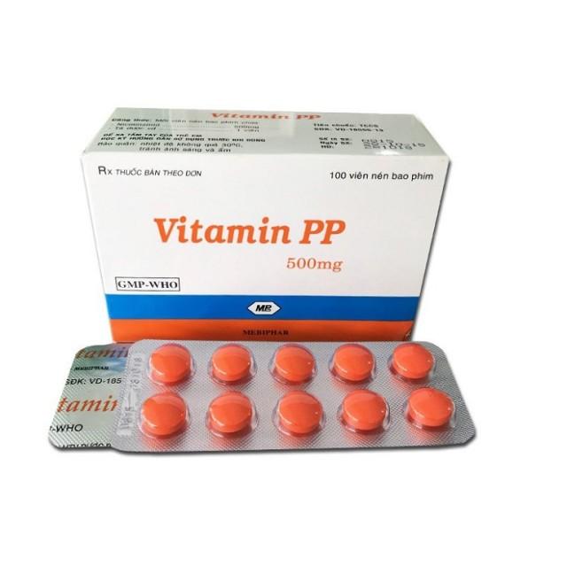 Vitamin PP ( vĩ)(H/100 viên)