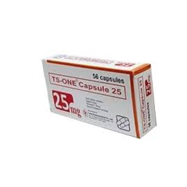 TS-ONE CAPSULE 25 MG H/56 VIÊN