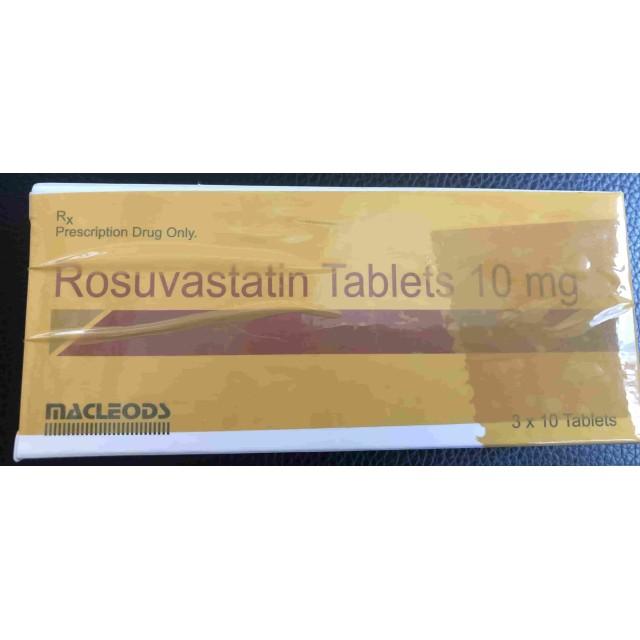 Rosuvastatin 10 mg Macleods H/30 viên