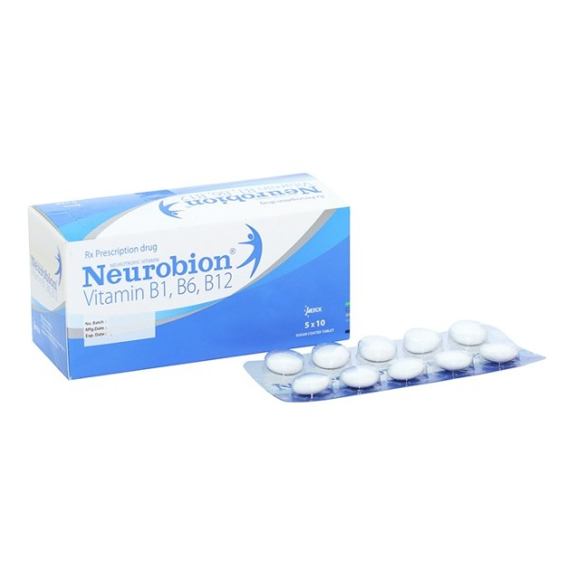 Neurobion H/50 viên ( Thuốc bổ sung vitamin B1, B6, B12)