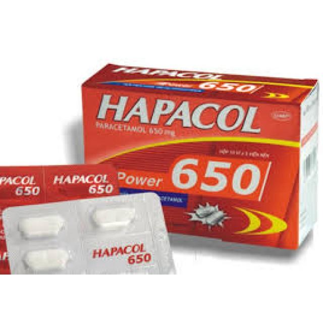 Hapacol Extra 650 H/100 v