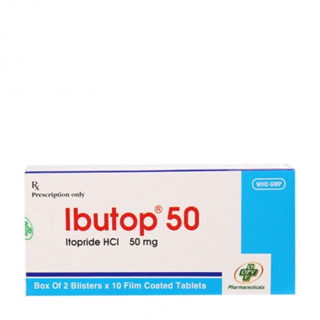 Ibutop 50 Mg H/20 viên