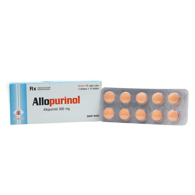 Allopurinol 300mg H/100v