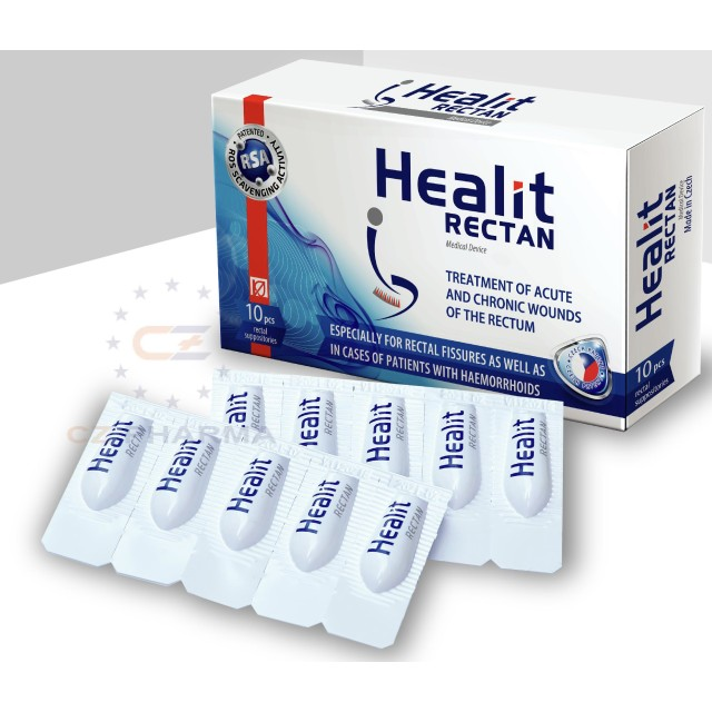 Healit Rectan H/10 viên ( Viên đặt trị trĩ)