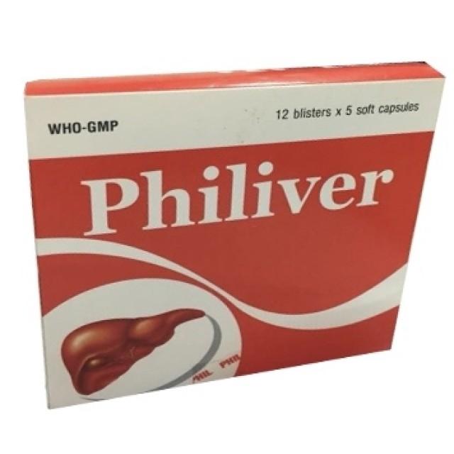 Philiver H/60 viên ( thuốc bổ gan)