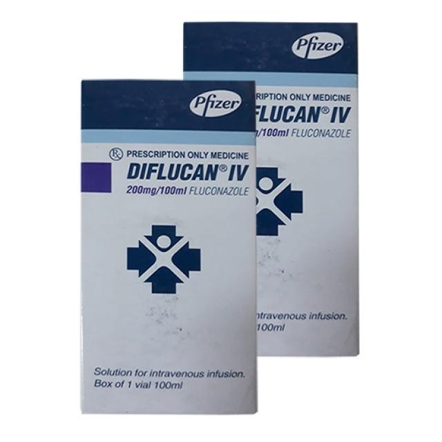 Thuốc Diflucan IV 200mg/100ml H/1 lọ