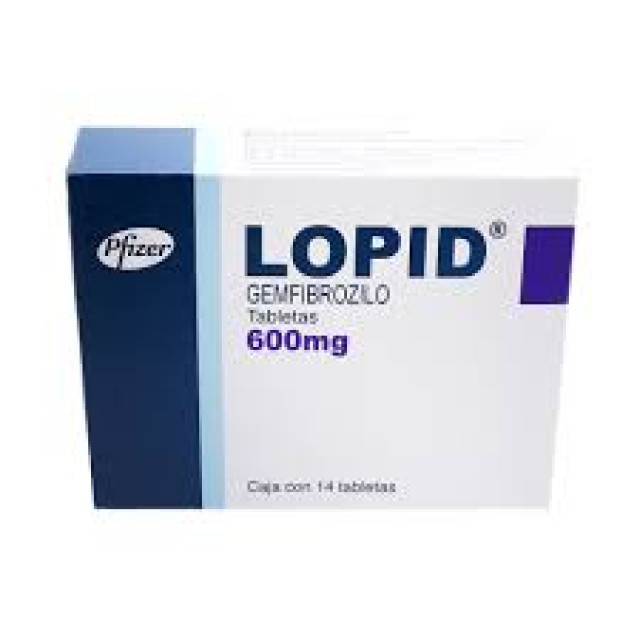 Lopid 600mg H/60 v