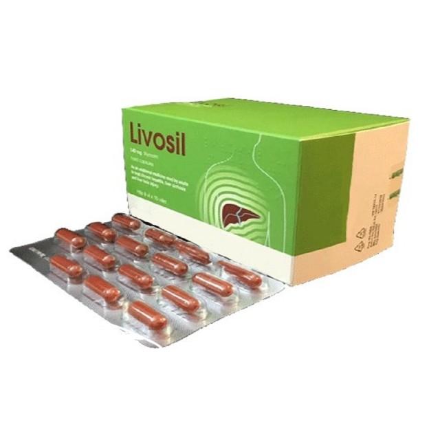 Livosil 140mg (Silymarin 140mg) hộp 120 viên