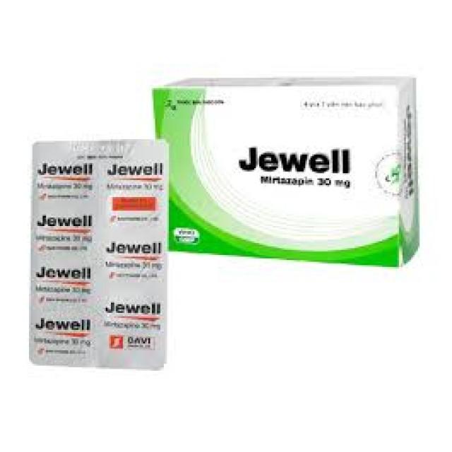 Thuốc Jewell 30 mg H/28 viên-thuốc trầm cảm