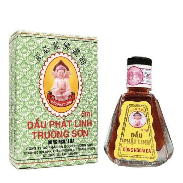 Dầu Phật Linh Trường Sơn 5ml (Lốc 6 chai)