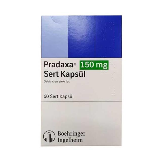 Pradaxa 150mg H/30 viên ( Thuốc ngừa thuyên tắc huyết khối tĩnh mạch)