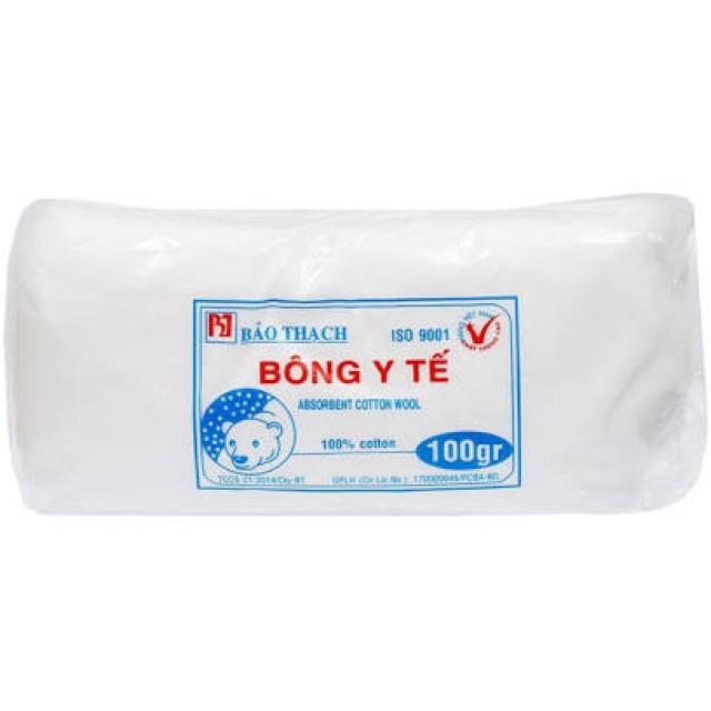 Bông gòn 100g (Bông Y Tế 100g Bảo thạch)