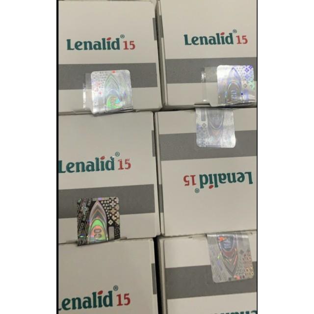 LENALID 15 mg  H/30 VIÊN( trị đa u tủy và điều trị bệnh bạch cầu lypho mãn tính)