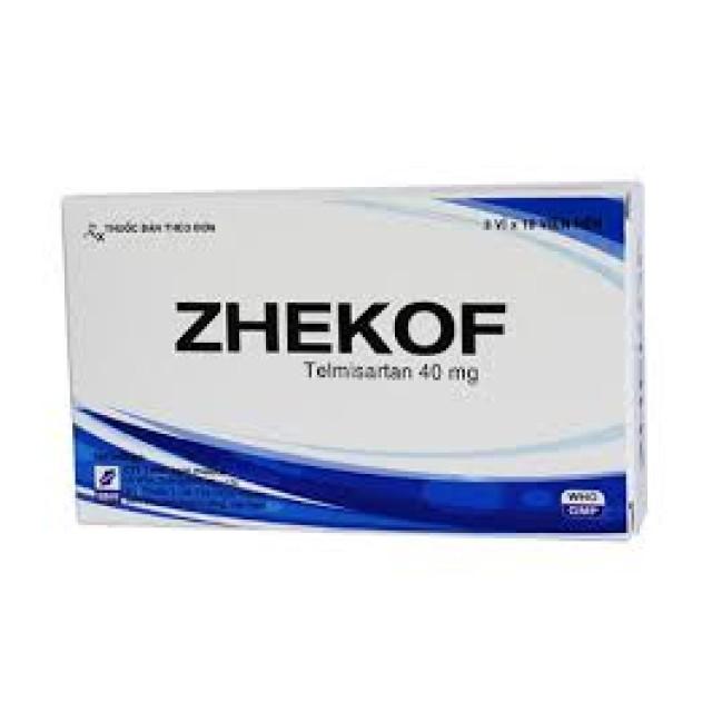 Zhekof cao huyết áp vô căn H/30 viên