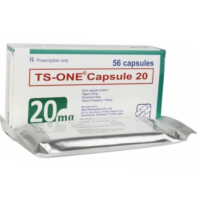 TS-One capsule 20 mg  H/56 viên