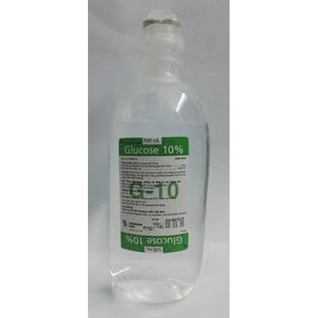 Glucose 10% dịch truyền  500ml thùng 20 chai