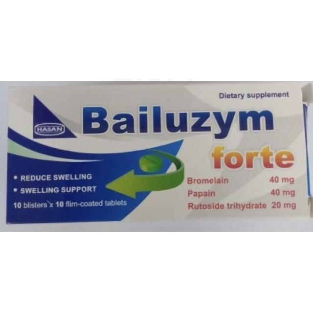 BAILUZYM FORTE H/100 viên ( kháng viêm dạng men)