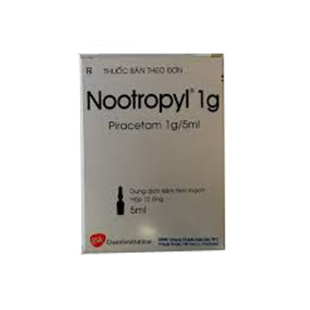 Nootropyl 1g/5ml H/12 ố