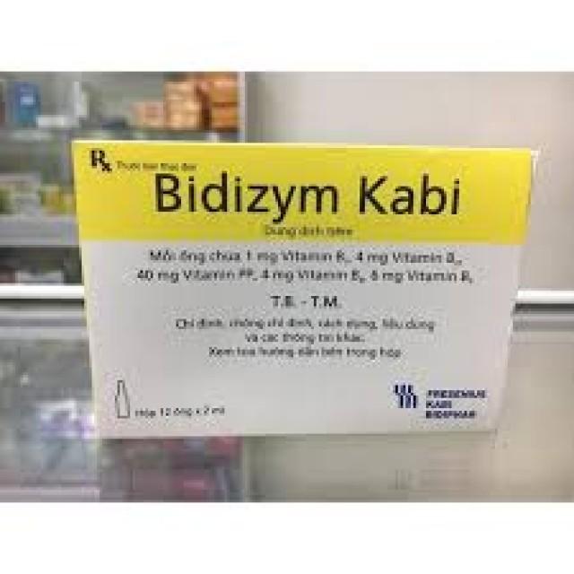 Bidizym Kabi Inj H/12 ống vitamin nhóm B