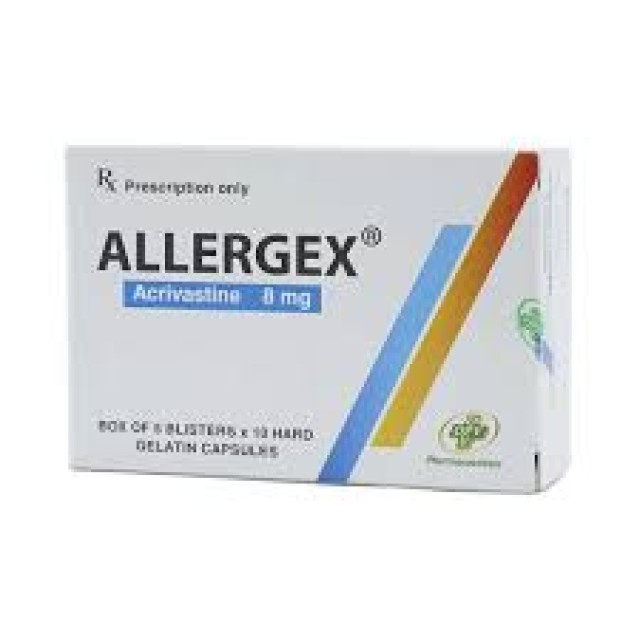 Allergex 8Mg H/50 vien