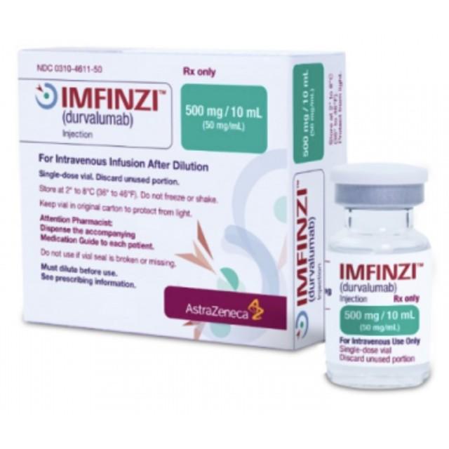 Imfinzi 500mg/10 ml (Durvalumab) Inj H/1 lọ