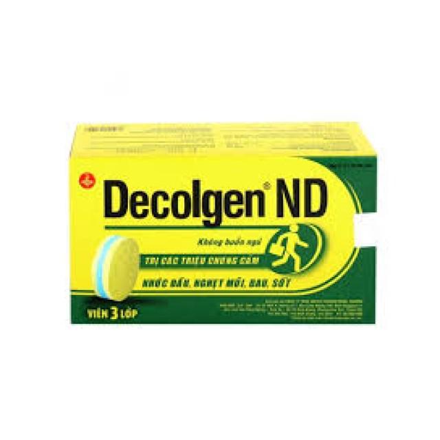 Decolgen ND H/100 viên