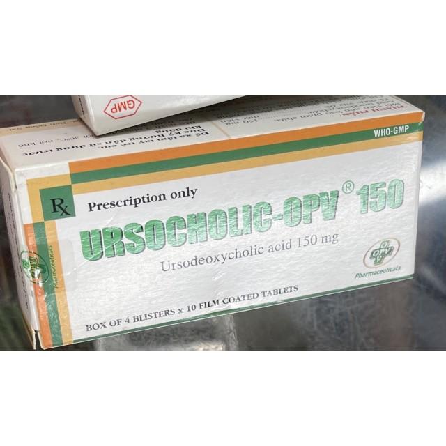 UrsochoIic-OPV 150 mg H/40 viên