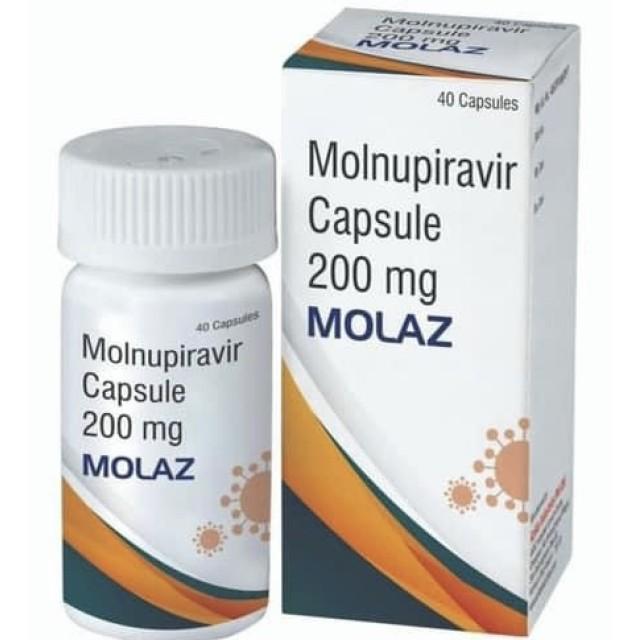 Molaz Molnupiravir 200mg H/40 viên