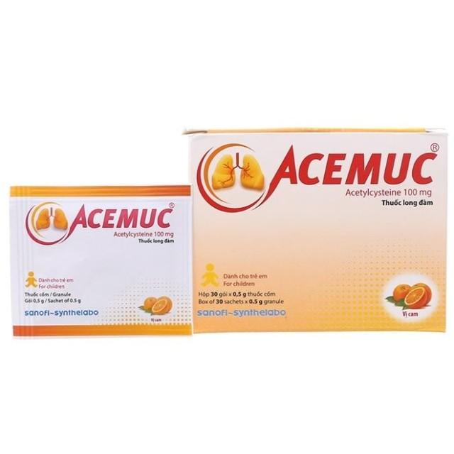 Acemuc 100mg Gói H/30 gói