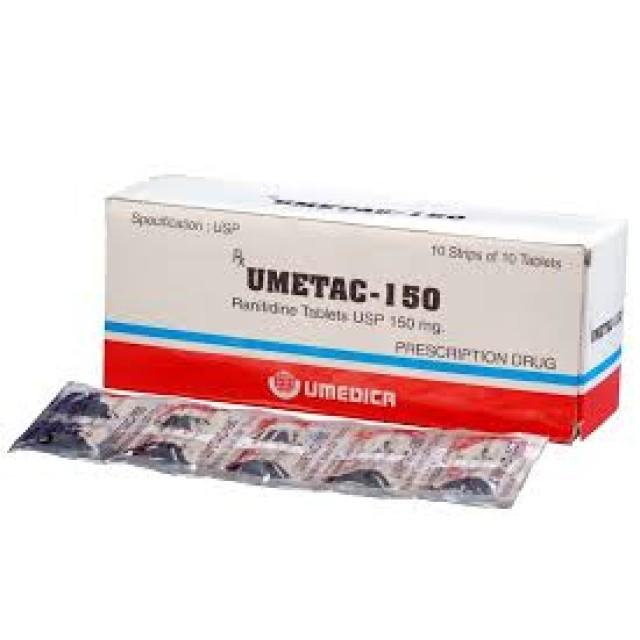 UMETAC 300 mg H/100 viên