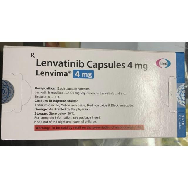 Lenvima Lenvatinib 4mg H/20 viên