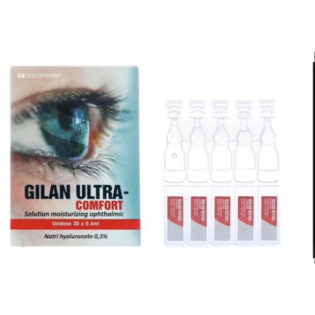 Gilan Ultra Comfort 0.3% hộp /30 ống ( nước mắt nhân tạo)