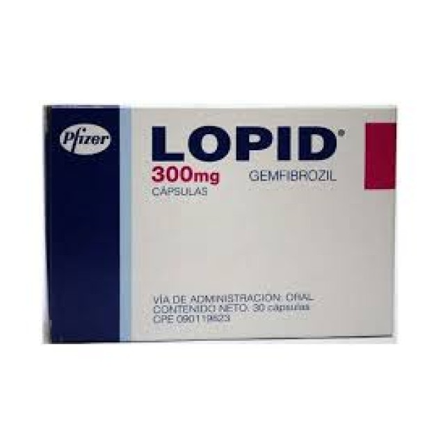 Lopid 300mg H/100 v